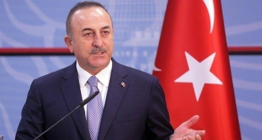 Dışişleri Bakanı Çavuşoğlu, ABD'li mevkidaşı ile görüştü