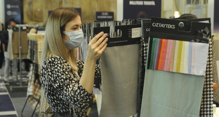 Kumaş ve tekstil yan sanayiinde 6 ülkeden 350 alıcı İstanbul'a geldi