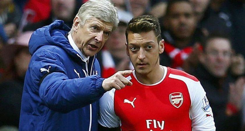 Ünlü teknik direktör Arsene Wenger: Mesut Özil'in oynatılmaması israftır