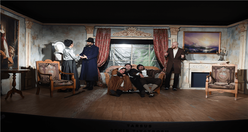 Tarsus Şehir Tiyatrosu ve Çehov Vodvil…