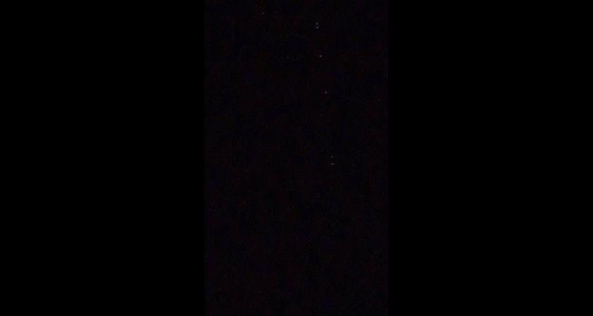 Starlink uyduları Çorum semalarında görüntülendi