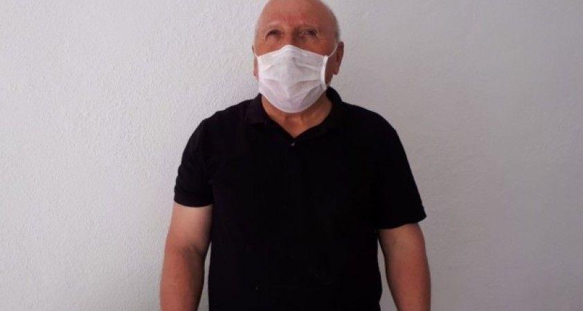 Eskişehirli halk şairi 'Evde kal Türkiyem' kampanyasına yazdığı şiirle destek verdi