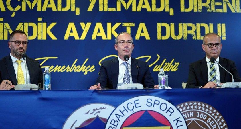 """""""Fenerbahçe, başından beri dimdik durduğu bu mücadelede haklı olduğunu kanıtlamıştır"""""""