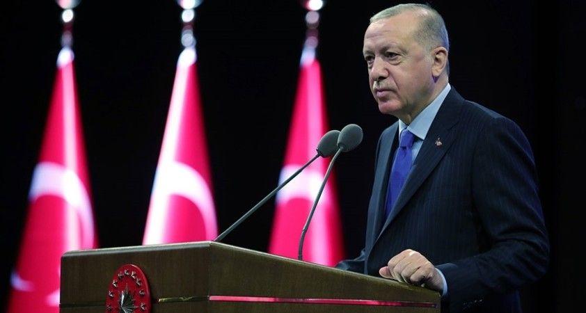 Cumhurbaşkanı Erdoğan: Eylem Planımızın nihai amacı, yeni ve sivil bir anayasadır