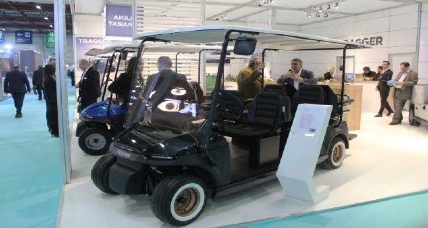 Yüzde 100 elektrikli yerli ve mili yeni nesil hizmet araçları fuarda tanıtıldı