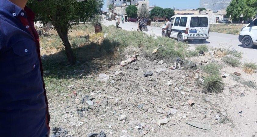 Azez'de patlama: 2 yaralı