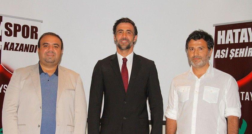 Hatayspor teknik direktör Ömer Erdoğan ile anlaştı