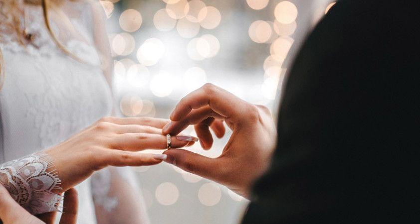 Kastamonu'da evlenmeler %3,1 arttı, boşanmalar ise %6,9 azaldı