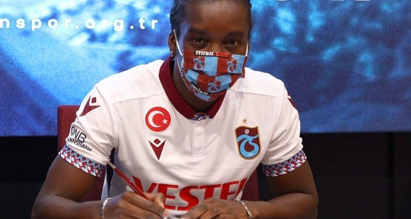 Trabzonspor, Diabate için imza töreni düzenledi