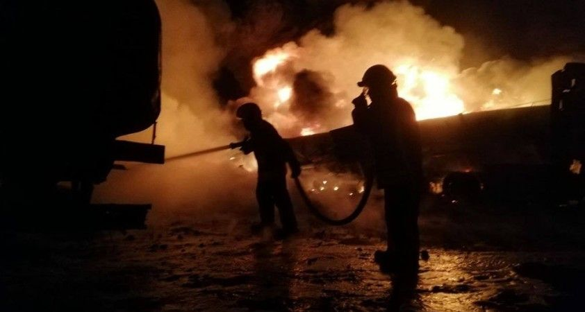 Cerablus'taki akaryakıt pazarı saldırısında 5 kişi öldü, 15 kişi yaralandı
