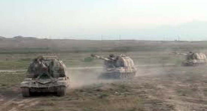 Azerbaycan ordusu Ermeni hedeflerini imha etti