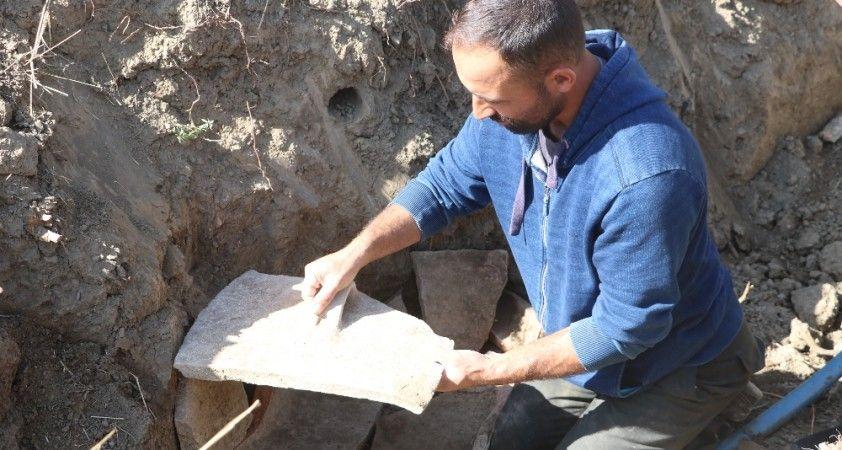 Lahit mezar bulduklarını sandılar, gerçek sonradan ortaya çıktı
