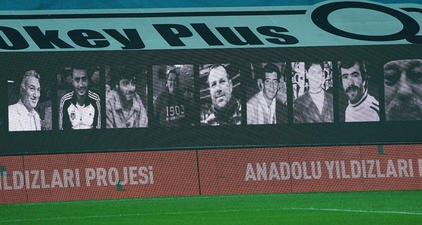 Beşiktaş, şehitleri unutmadı