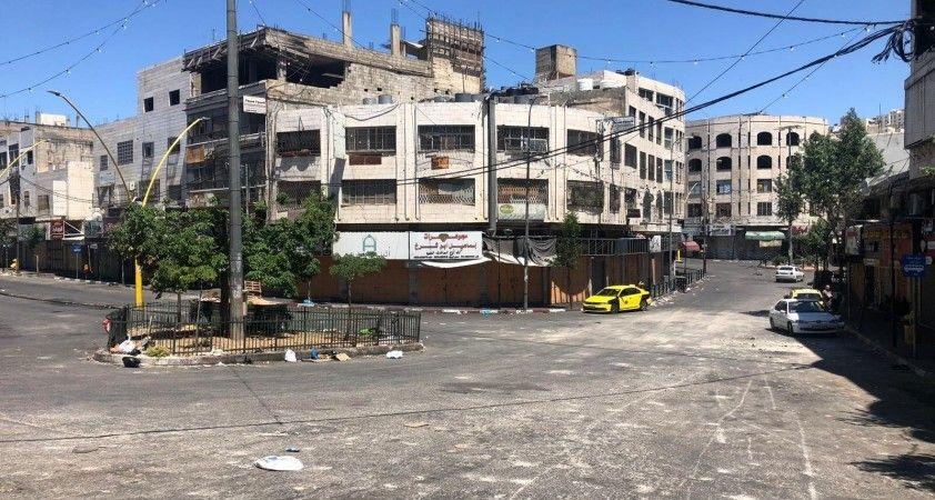 Filistin'de İsrail saldırıları nedeniyle bir günlük grev