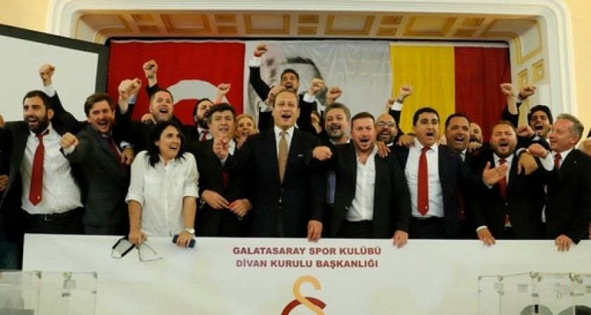 Galatasaray'da yönetim kurulu görev bölümü yapıldı