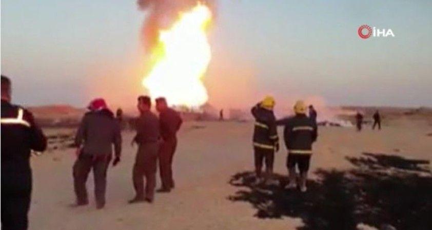Şii Haşdi Şabi örgütü: 'Boru hattındaki patlama hava saldırısı sonucu gerçekleşti'