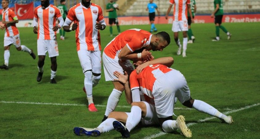 Ziraat Türkiye Kupası: Adanaspor: 2 - Sakaryaspor: 2