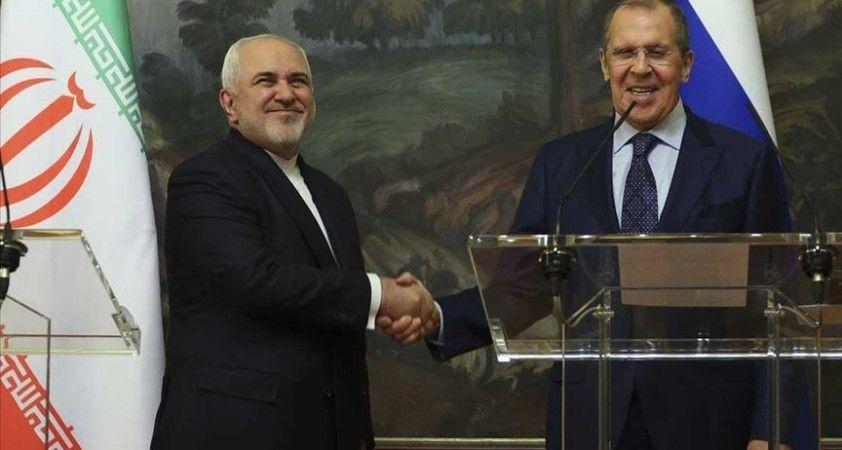 Lavrov: Rusya, İran ve Türkiye, Suriye Anayasa Komitesi'nin çalışmasıyla ilgili iş birliğine devam ediyor