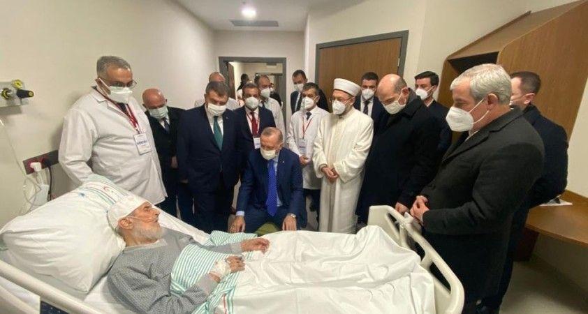 Cumhurbaşkanı Erdoğan'ın Hafız Nazırlı'ya ziyaretini oğlu anlattı