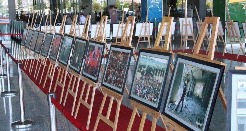 Jandarma'dan 15 Temmuz Demokrasi ve Milli Birlik Günü Anma temalı fotoğraf sergisi
