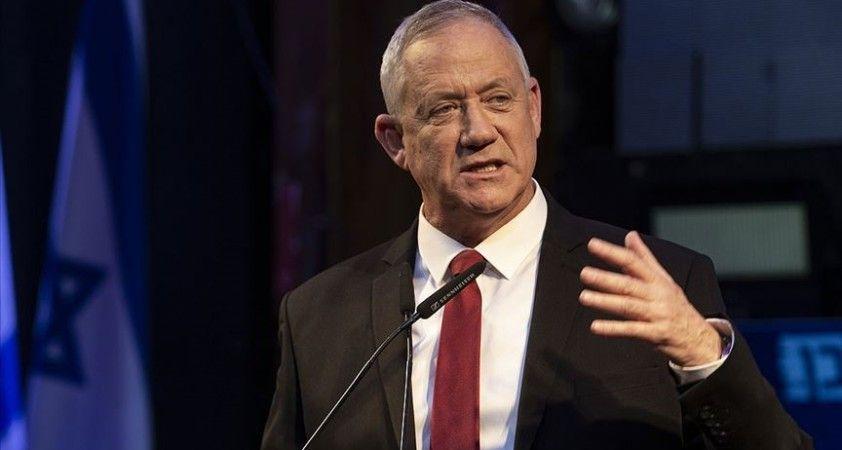 İsrail Savunma Bakanı Gantz'dan Filistin'e müzakere çağrısı yaptı