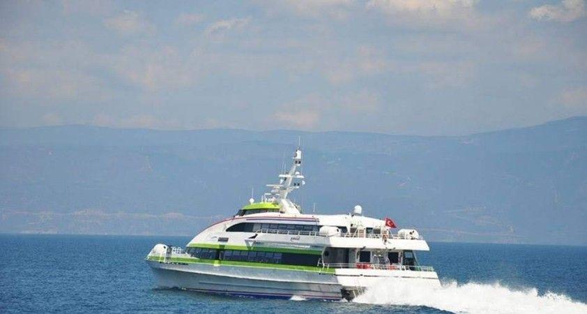 İstanbul'da deniz ulaşımına fırtına engeli