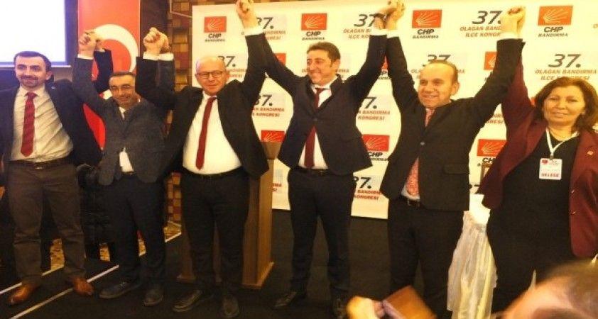 CHP Bandırma Başkanlığına Selim Panç seçildi