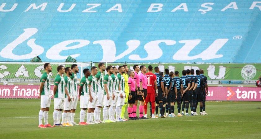 Süper Lig: Konyaspor: 0 - Trabzonspor: 0 (İlk yarı)