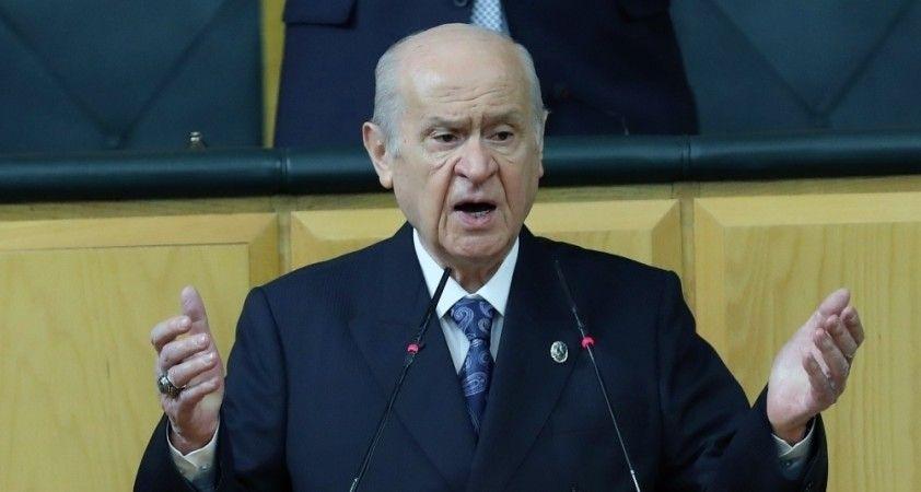 Devlet Bahçeli'den Bülent Arınç'a tepki