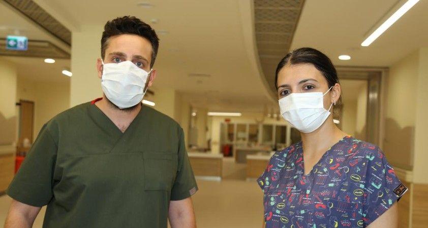 'Lütfen beni entübe edin diyen hastam oldu'