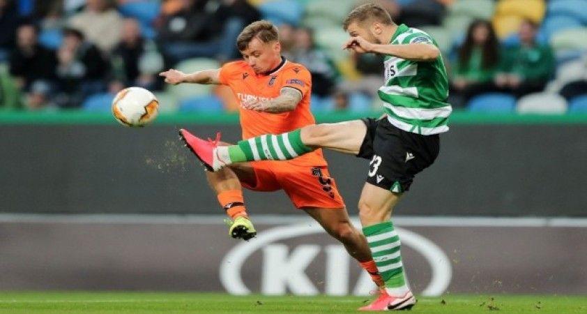 UEFA Avrupa Ligi: Sporting Lizbon: 3 - Medipol Başakşehir: 1 (Maç sonucu)