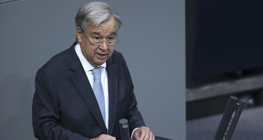 BM Genel Sekreteri Guterres, Cenevre'deki Kıbrıs konulu 5+1 formatındaki gayriresmi toplantıya katılacak