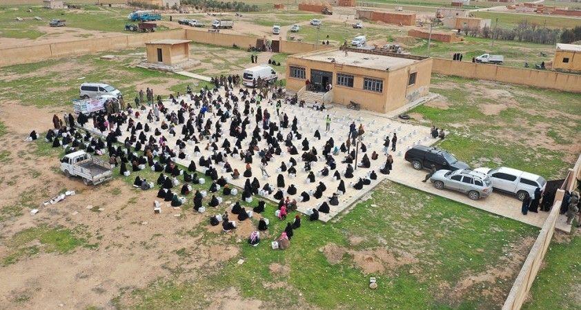 Şanlıurfa'dan 28 tır dolusu yardım Suriye'ye ulaştı