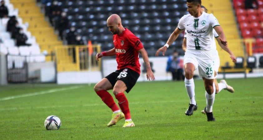 Süper Lig: Gaziantep FK: 1 - Giresunspor: 1 (Maç Sonucu)