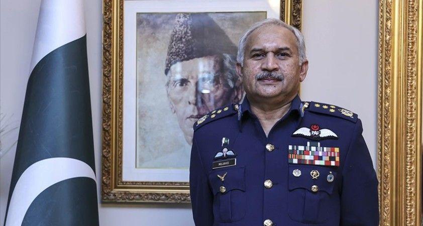 Pakistan Hava Kuvvetleri Komutanı: Türkiye ve Pakistan arasındaki ilişkiler dünya genelinde gıpta ediliyor
