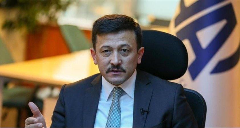 AK Parti'li Hamza Dağ'dan İzmir'deki yoğun bakım yatak sayısı hakkında açıklama