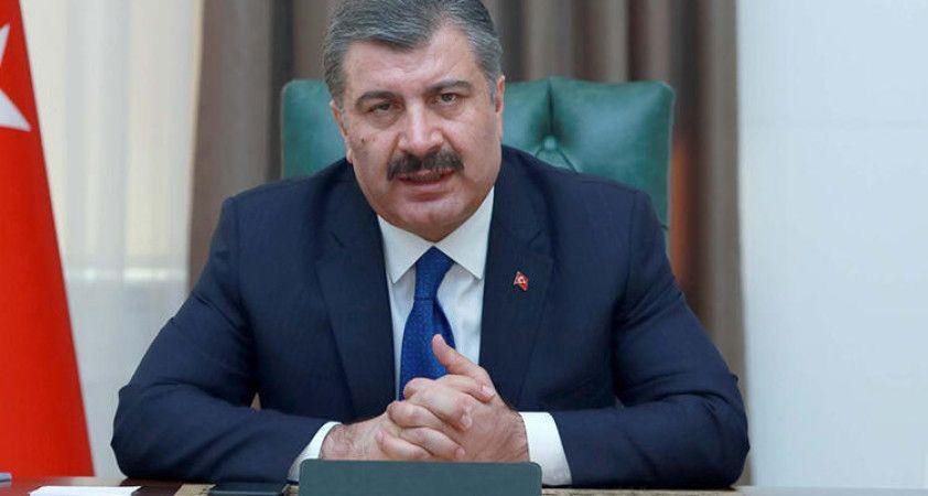 Sağlık Bakanı Koca: Dünyadaki en hızlı uygulamalardan birini gerçekleştirdik
