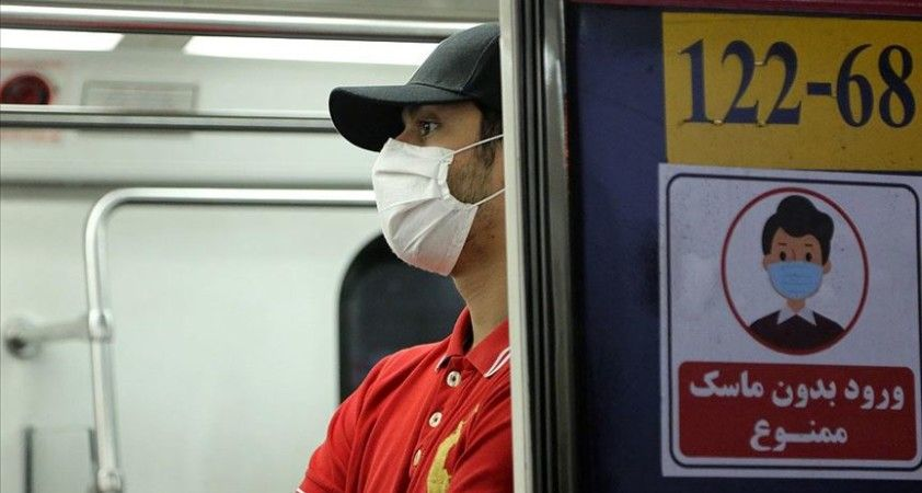 Tahran'da toplu taşıma araçlarında maske kullanma zorunluluğu getirildi