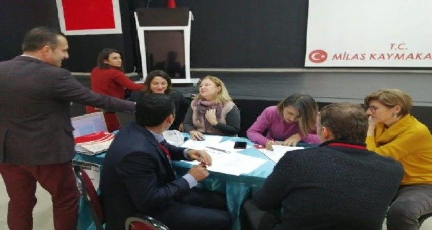 """Milas'ta 'Eğitimde Ufuk Turu Çalıştayı"""" düzenlendi"""