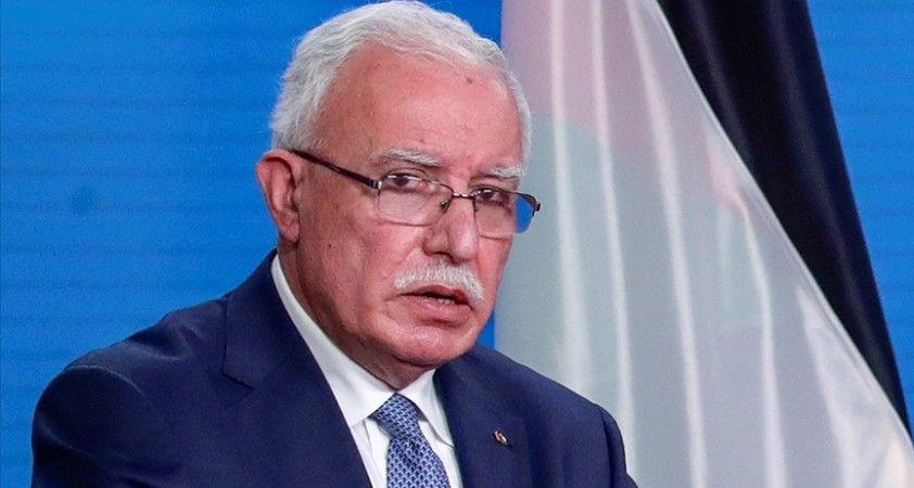 Filistin Dışişleri Bakanı: Biden yönetiminin Filistin meselesinde yapılan yanlışlardan dönmesini bekliyoruz