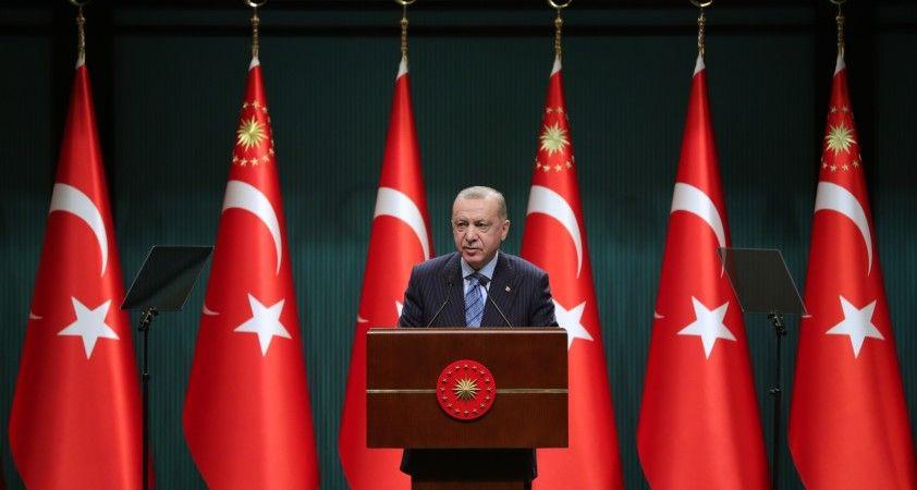 Cumhurbaşkanı Erdoğan'dan ABD Başkanı Biden ve İsrail'e tepki