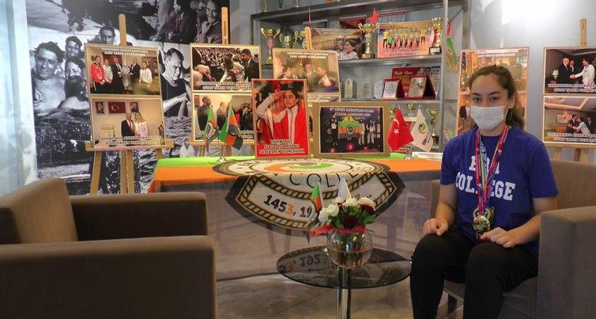 Avrupa Tekvando Şampiyonu Sude Yaren Uzunçavdar