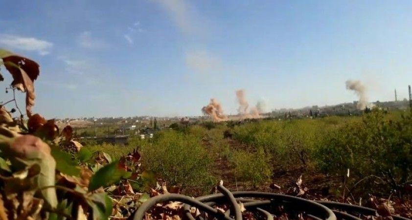 Esad güçlerinden İdlib'e topçu saldırısı: 10 yaralı