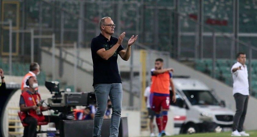 """""""Bursaspor olarak buralarda olmamamız gerekiyor"""""""