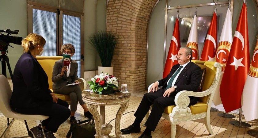 """TBMM Başkanı Şentop: """"Afgan halkının yanında olmaya devam edeceğiz"""