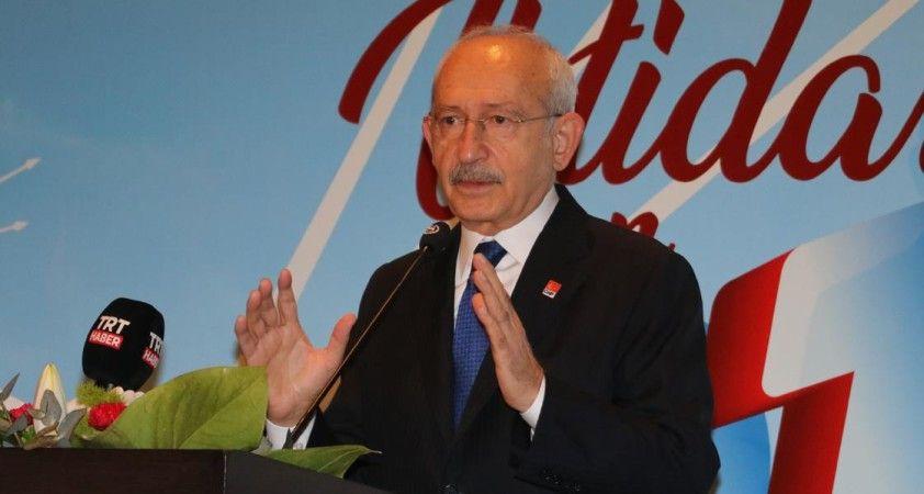Kılıçdaroğlu: CHP'li olmanın kendine göre özel bir ağırlığı ve sorumluluğu var