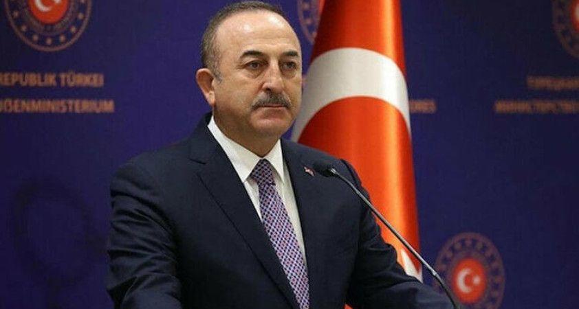 Bakan Çavuşoğlu, Libya Dışişleri Bakanı Manguş ile görüştü