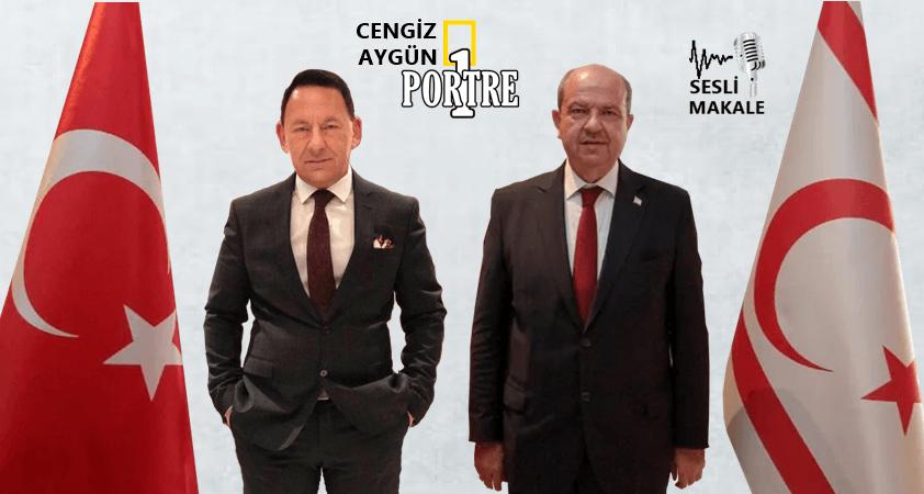 Kıbrıs Türk Cumhuriyeti'nin yeni Cumhurbaşkanı; ErsinTatar…