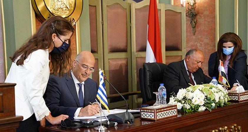 Yunanistan-Mısır anlaşması 'Türkiye'nin yetki alanlarına tecavüz' olarak değerlendiriliyor