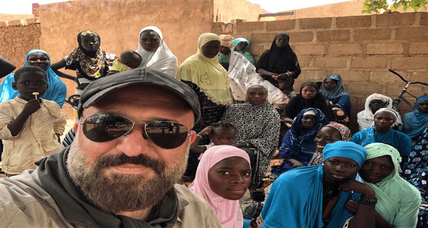 Afrika, Burkina Faso'dan selamlar..